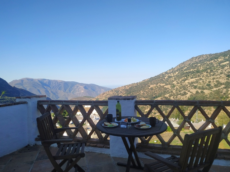 Breakfast in the Alpujarras